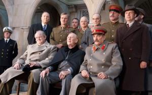 Yalta, 1954: Gleeson, Cariou, Patrenko (HBO).