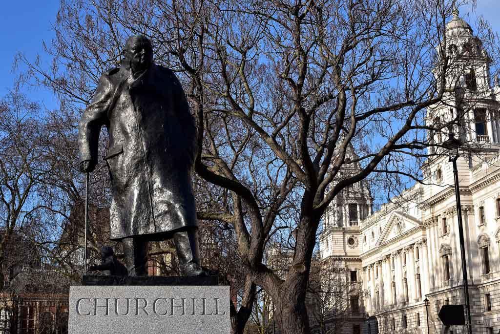 Churchill Parliament Square