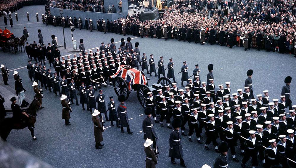 Churchill funeral