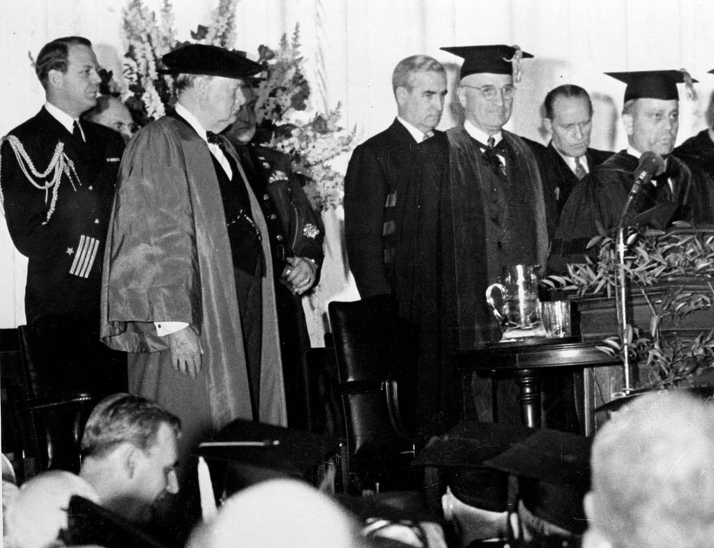 Iron Curtain speech, Fulton