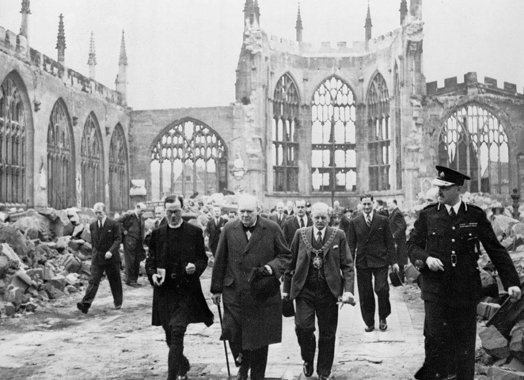 Churchill in Coventry