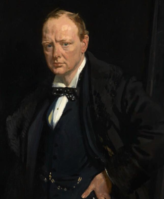 churchill-portrait