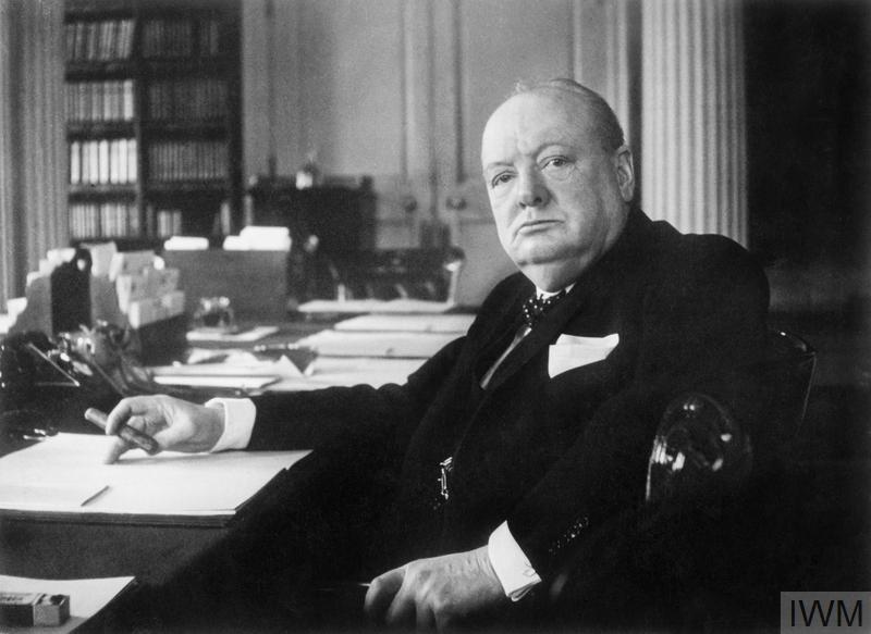 Winston Churchill Senior Statesman