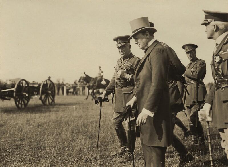 Winston Churchill and Sir William Robert Robertson